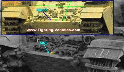 Centurion Tank Up Armoring Example