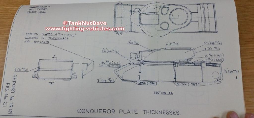 Conqueror Tank Armor Thickness