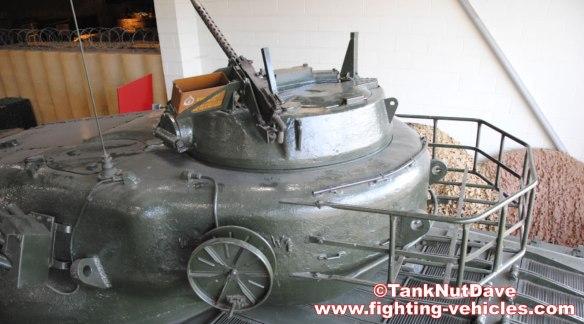 Conqueror Tank Mk1 – Commanders Sub Turret Rear