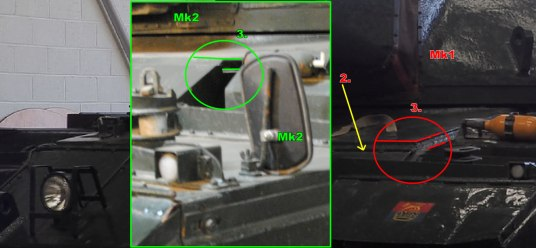 Conqueror Tank Mk1 and Mk2 Differences Image 2