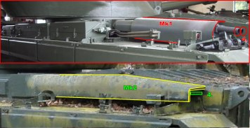Conqueror Tank Mk1 and Mk2 Differences Image 3