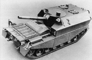 Centurion Tank FV 3805 Self Propelled Gun