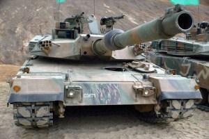 K1 Tank upgrade K1A1