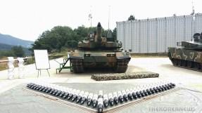 K2 Black Panther Tank 120mm L55 Smoothbore gun bombload