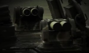 K2 Black Panther Tank KAPS (Korean Active Protection System) Image 3
