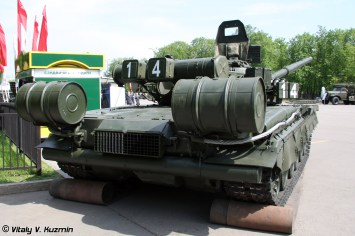 T-80BV is the T-80B with Kontakt-1 ERA