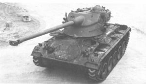 AMX-13-75 Light Tank turret with Chaffee Hull