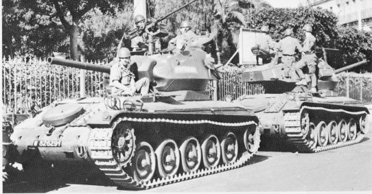 AMX-13-75 Light Tank with Chaffee Turret