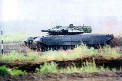Object 640 Black Eagle Tank 1999 version with x7 road wheels image 9