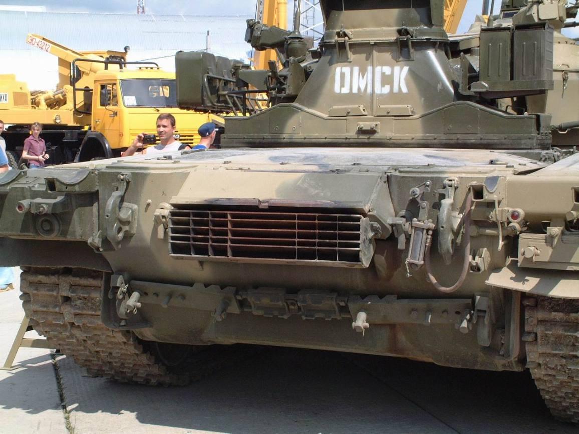 Russian T-80U Tank