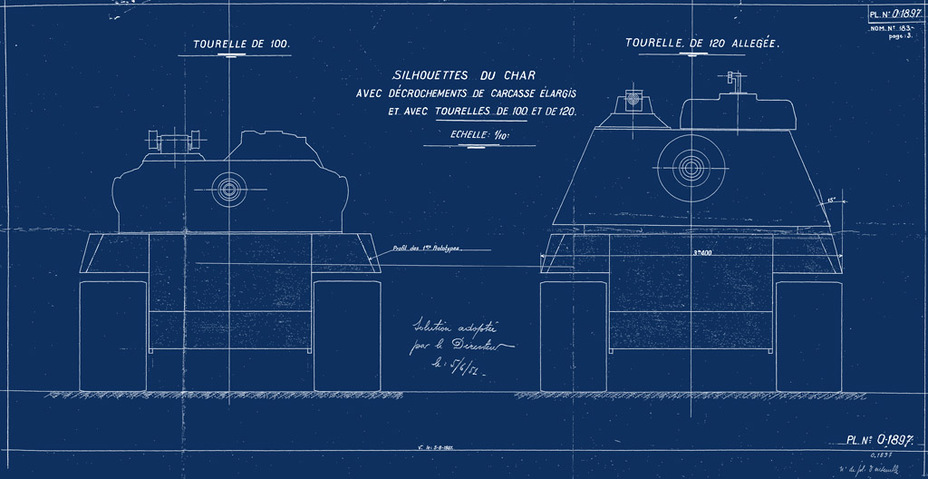 French amx 50 tank model the amx 50 120 blueprint 2 fighting french amx 50 tank model the amx 50 120 blueprint 2 malvernweather Images