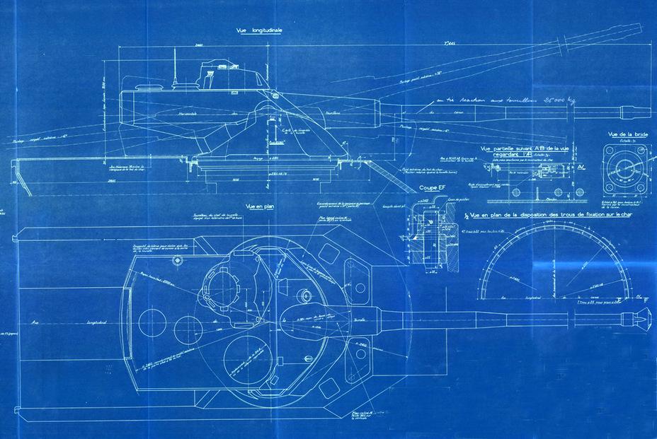 French amx 50 tank model the amx 50 120 blueprint fighting french amx 50 tank model the amx 50 120 blueprint malvernweather Images