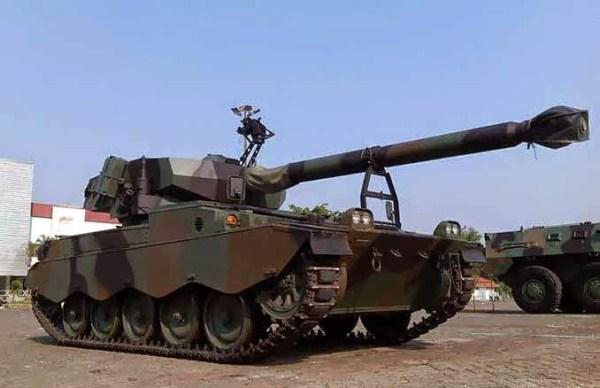 Indonesian AMX-13-105 Tank Retrofit aka Yonkav 2 Tank