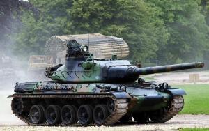 The French AMX-30 Tank model AMX-30B