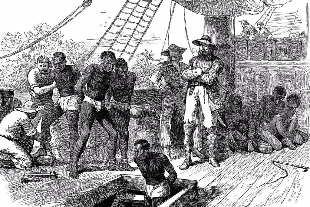 In August 1619, slaves began arriving in Jamestown. Over the next couple hundred years, slavery would explode in Virginia and surrounding states.