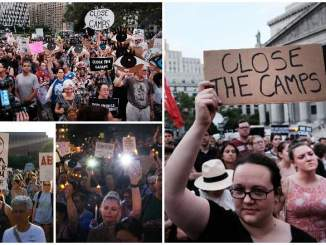 Thousands Across the Country Attend Lights for Liberty Vigils