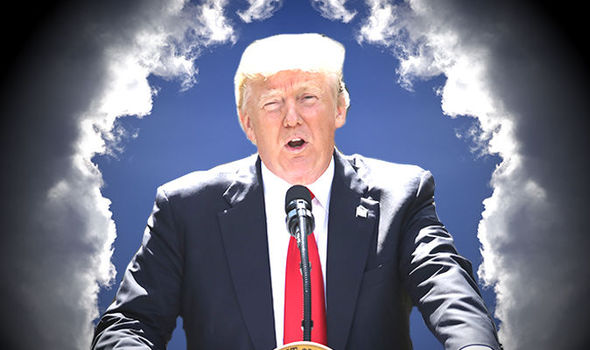Trump as god?
