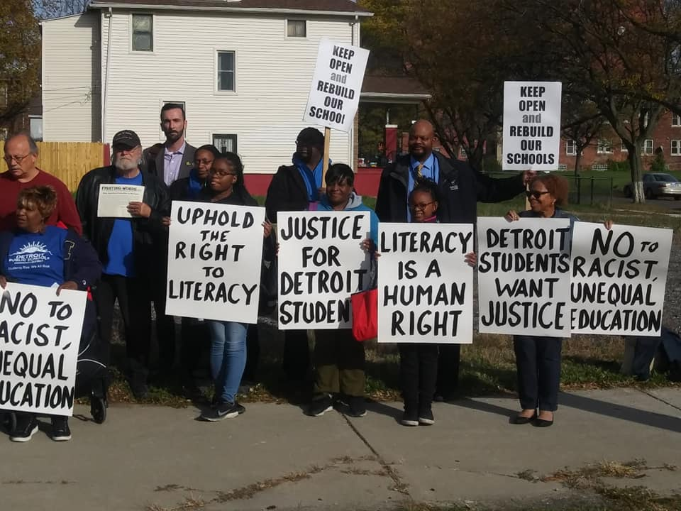 Supporters of Literacy Lawsuit v State of Michigan 10-24-2019