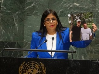 Venezuela Vice-President Delcy Rodriguez Speaks to the United Nations General Assembly Sept 27 2019