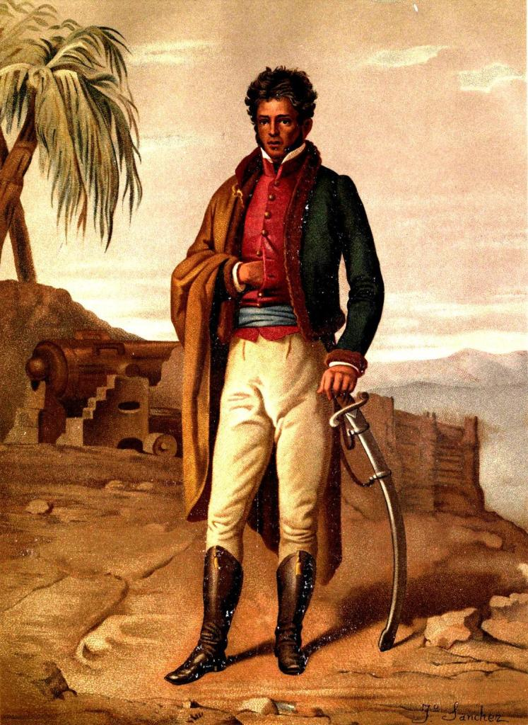 Vicente Ramón Guerrero Saldaña (1782 – 1831), Mexican revolutionary leader and President
