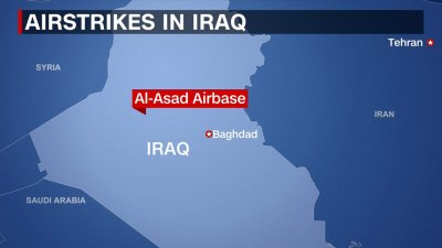 Pentagon bases struck by the IRGC in Iraq