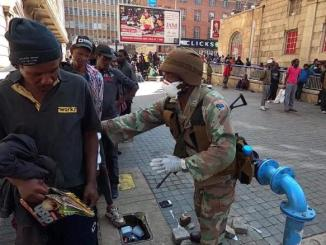 South African soldiers enforce lockdown amid COVID-19 pandemic