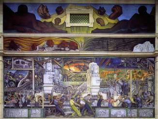 Diego Rivera Detroit Industry Murals North Wall