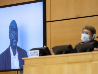 George Floyd's brother addresses the UN Human RIghts Council on June 18, 2020