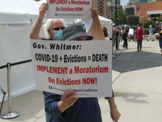 Reinstate a Moratorium on Evictions in Michigan