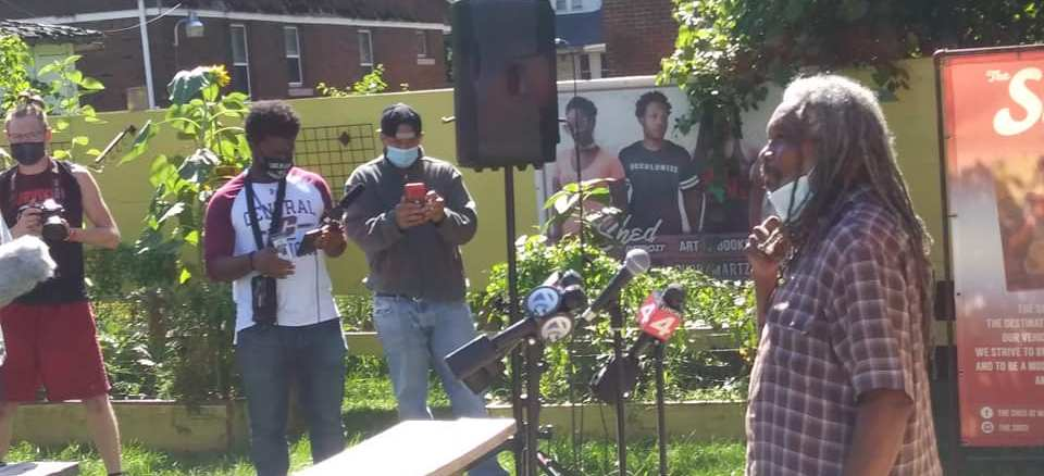 Press conference on police brutality featured Darryl Jordan of EMEAC