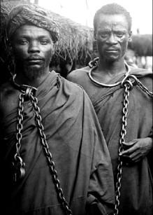 Tanzania Maji Maji warriors as political prisoners of German colonialism