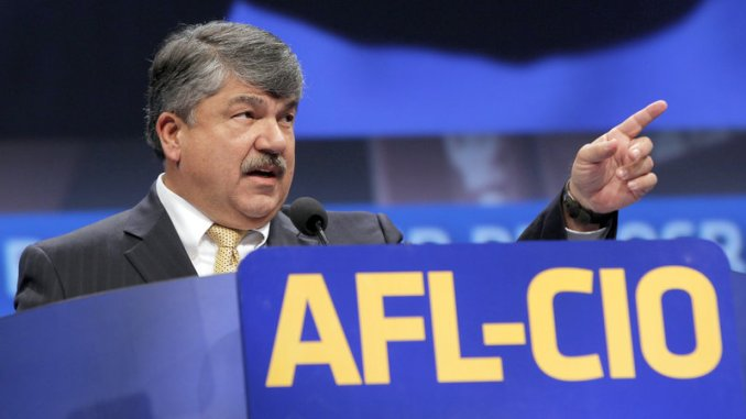The AFL-CIO labor federation, headed by Richard Trumka, is seeing the terms general strike and resistance against tyranny, bandied about.