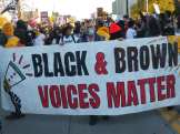 Detroit demonstration demands Black and Brown voices be heard on Nov. 4, 2020