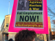 Black Lives Matter protest in Oshkosh, Wisconsin fall 2020 Photo wibailoutpeopleorg