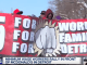 Low wage workers march in Detroit for $15 minimum wage