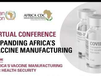 African Union Conference on COVID-19 vaccination production held on April 12-13, 2021
