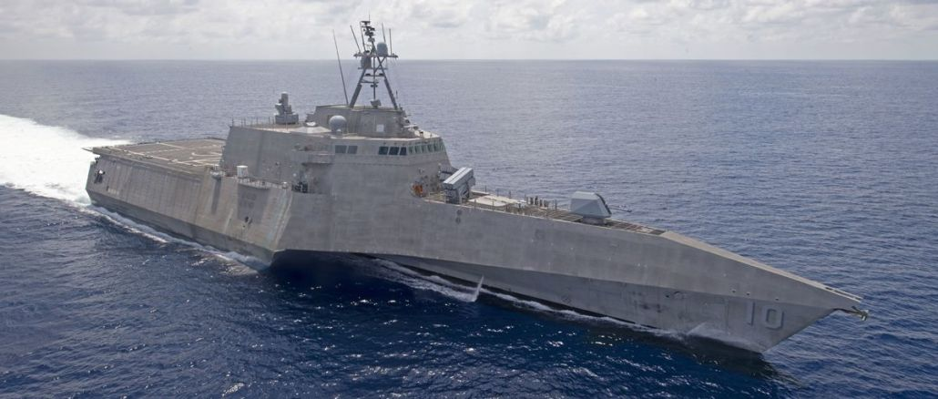 Ships of the U.S. Seventh Fleet threaten China
