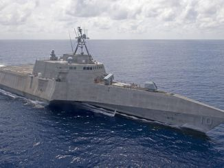 Ships of the U.S. Seventh Fleet threaten China