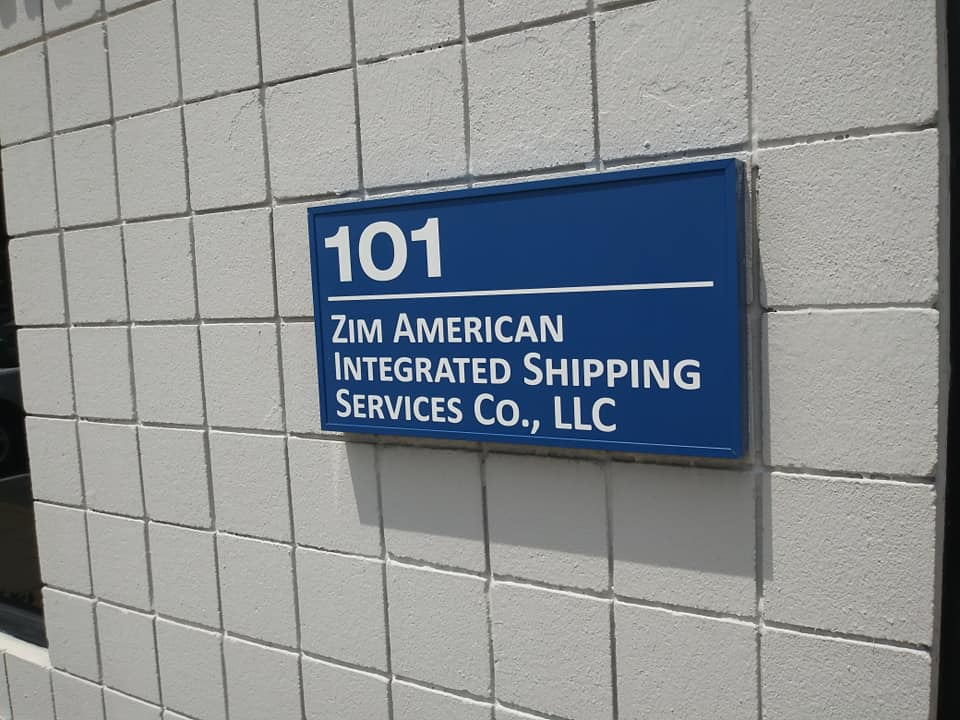 Detroit Says Block the Boat rally location at ZIM Shipping on June 8, 2021