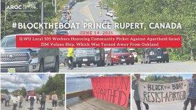 Prince Rupert Block the Boat