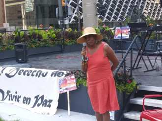 Detroit Cuba Solidarity Rally with Dr. Gloria House, July 26, 2021