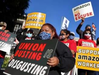 Amazon-Union Busting