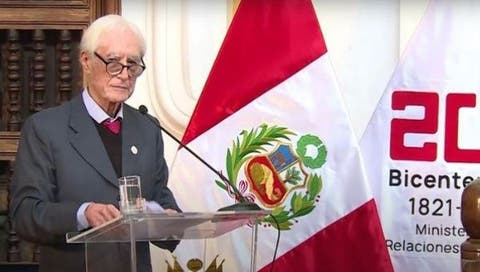 Peru Foreign Minister Hector Bejar resigns
