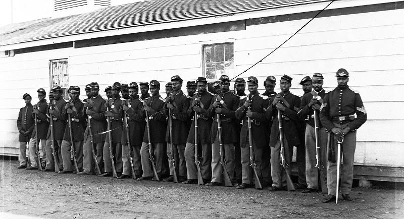Black soldiers- civil war