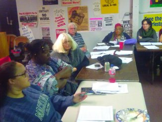 November 2018 Moratorium Now Coalition planning meeting