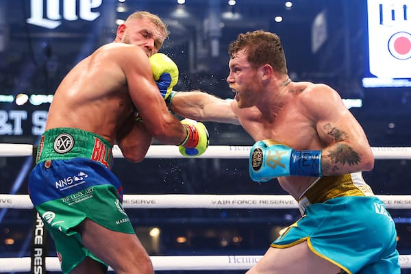 Boxeo: Saul Alvarez Vs Billy Joe Saunders Fight Night