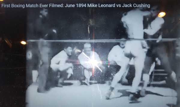 Footage Of Mike Leonard Vs. Jack Cushing