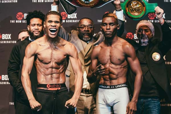 Haney Vs Ndongeni Weigh In 6