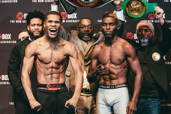 Haney Vs Ndongeni Weigh In 6