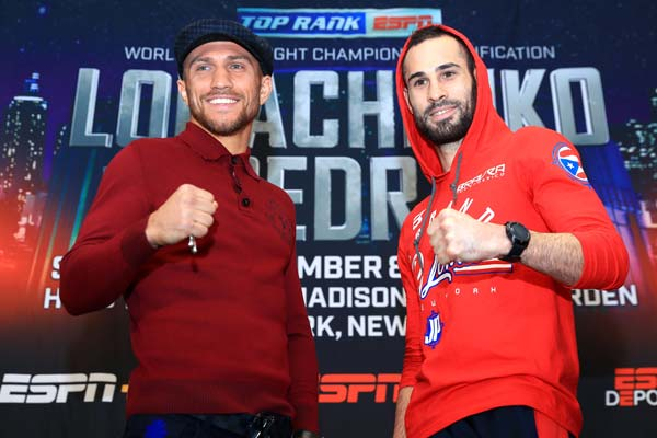 Lomachenko - Pedraza: predictions and betting bookmakers in a unification bout